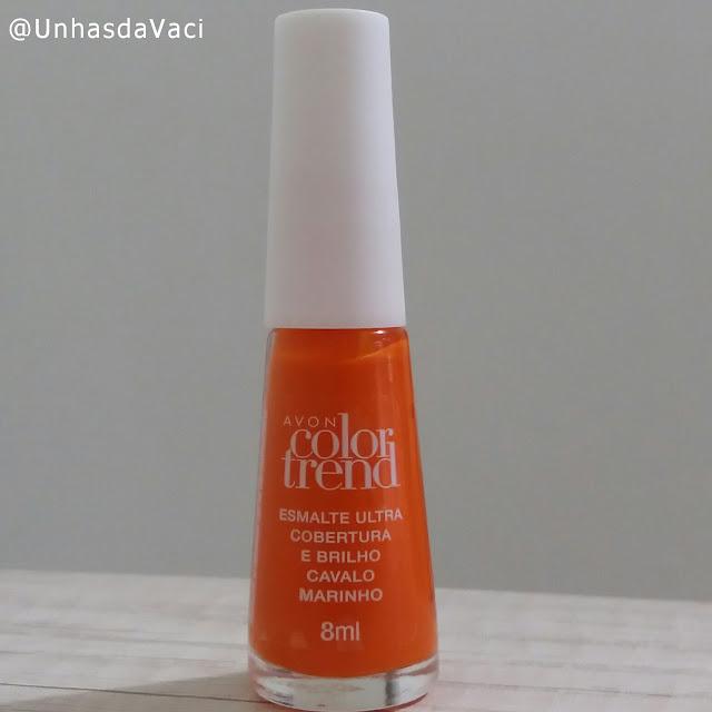 Cavalo Marinho - Avon Color Trend