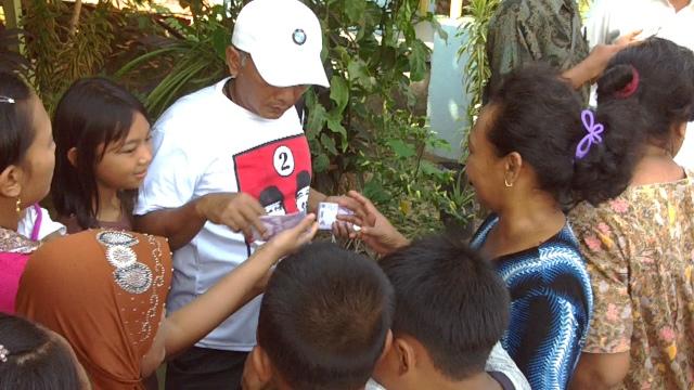 Kampanye Perdana, MKP - Pungkasiadi Blusukan 3 Desa