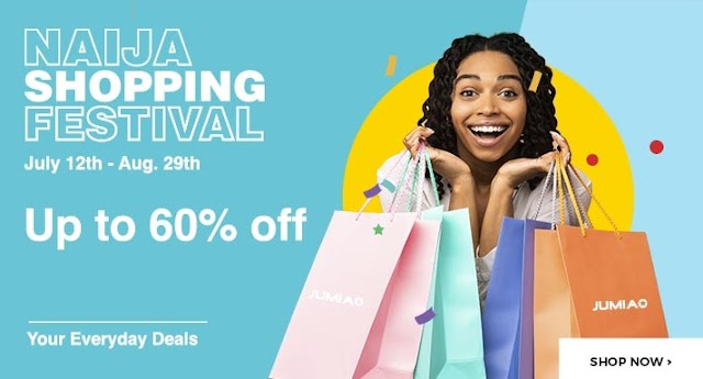 Jumia Offers Exciting Deals to Customers With Naija Shopping Festival Campaign ~Omonaijablog
