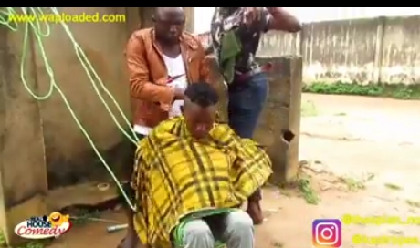 Video:- First Class Barbing Saloon By Real House Of Comedy