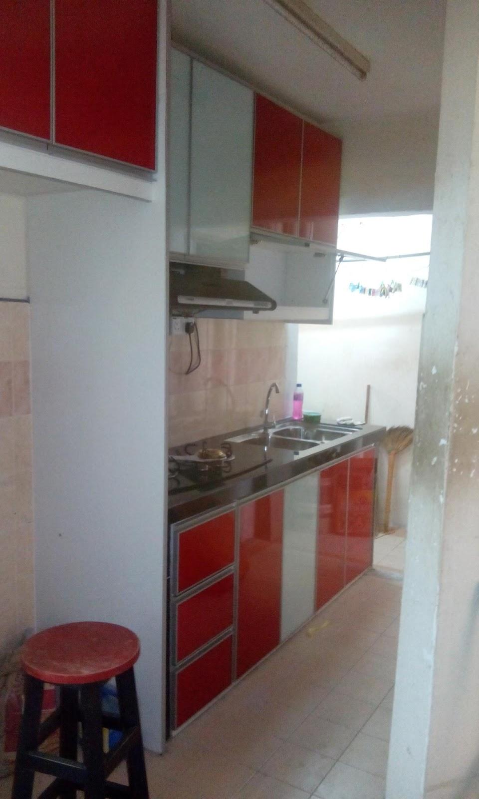 Kabinet Dapur Rumah Flat Ppr