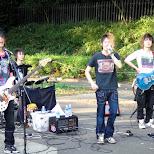 band at yoyogi park in Shibuya, Tokyo, Japan