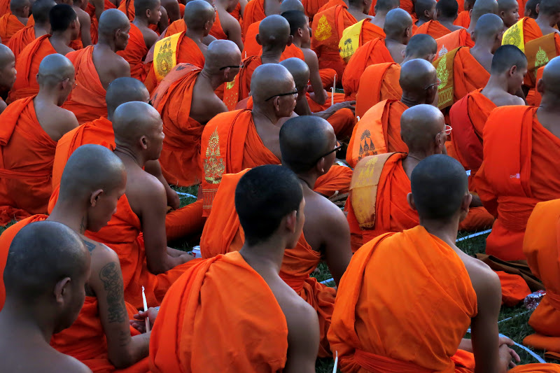 Sea of monks