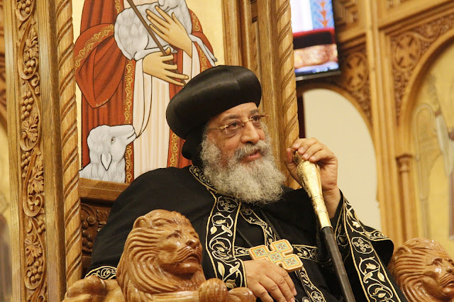 His Holiness Pope Tawadros II visit to St. Mark LA - _MG_0584.JPG