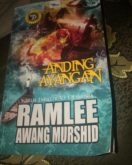 Review novel Anding ayangan-Ramlee Awang Mursyid