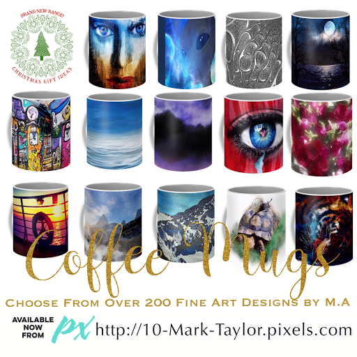 Mark Taylor art Coffee Mugs