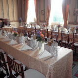 Spring Wedding Banquet in the Dining Room