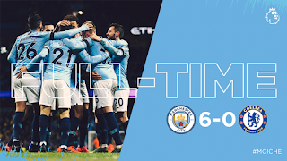 Manchester City humiliates Chelsea [Watch Highlights]