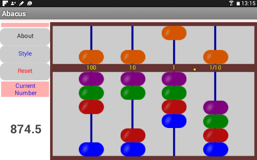 Touch Abacus