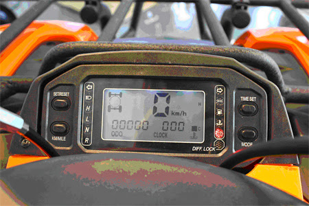 Digital Speedo Dash 500 Quad