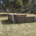 Horse trailer ramp at Wares Yards