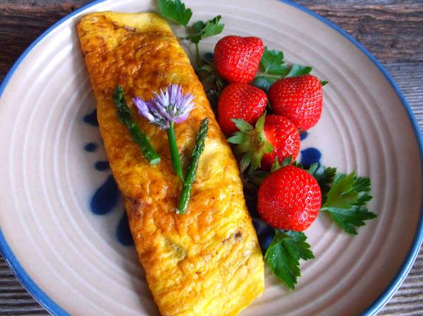 Asparagus Omelette Recipe