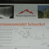 Het Nationalpark gelegen tussen Selsverket en Otta.