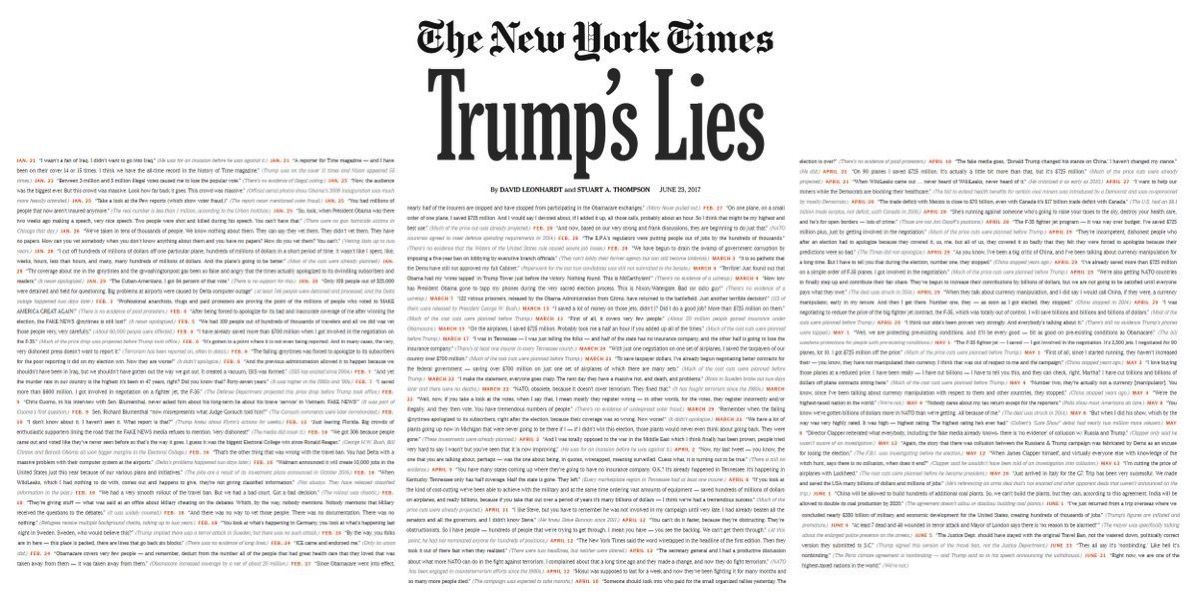 Nytimes trump lies