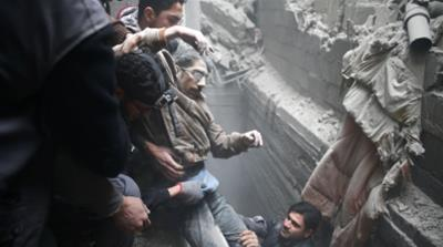 Survive or die together': More than 400 killed in Eastern Ghouta
