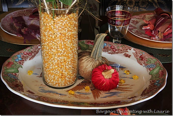 Thanksgiving Platter for Centerpiece