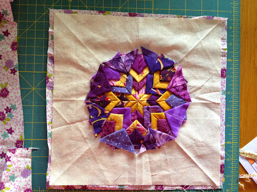 Folded star pot holder | Sewn Up : folded star quilt block - Adamdwight.com