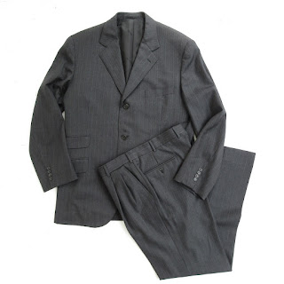 Hermès 3-Button Suit