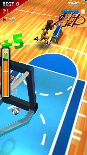 Basket 3 point Shots 3D(三分投篮赛)
