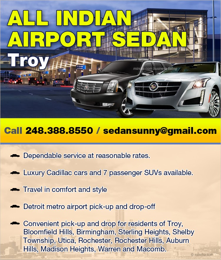 Airport Taxi Service in Michigan Detroit