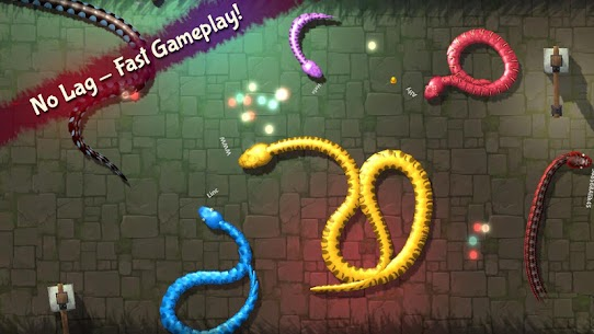 3D Snake . io MOD Apk (Unlimited Money) 10