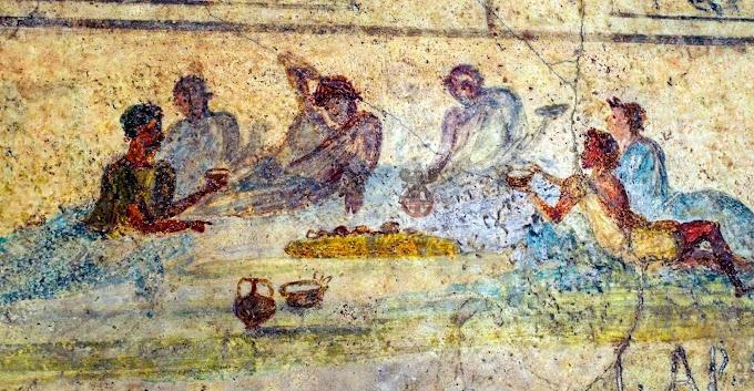 Τι συνέβαινε στα συμπόσια των  Ρωμαίων: Οι δεισιδαιμονίες και οι περίεργες συνήθειες