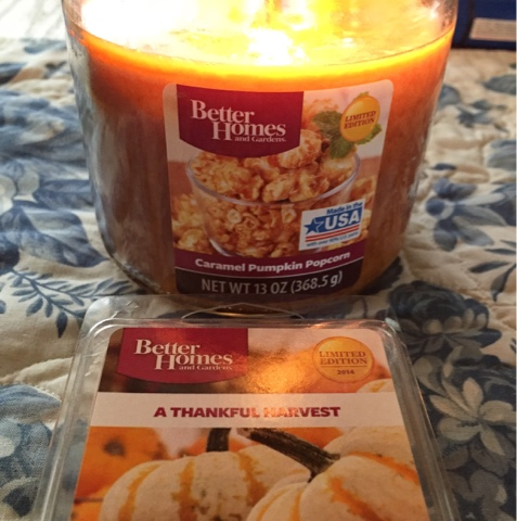 Thrifty Polished Review Bhg Caramel Pumpkin Popcorn Candle