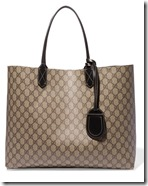 Gucci Reversible Coated Canvas Tote Bag