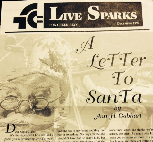 A Gift For Christmas Story.A Christmas Story Gift For You A Letter To Santa Ann H