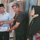 PKLB dan Sanggar Menari Bumiratu berikan bantuan kapada warga yang terkena bencana Alam.