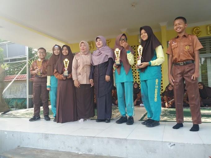 Hebat, SMP 13 Pekanbaru Raih Juara 1 Lomba Cerdas Cermat dan Doodle ART.