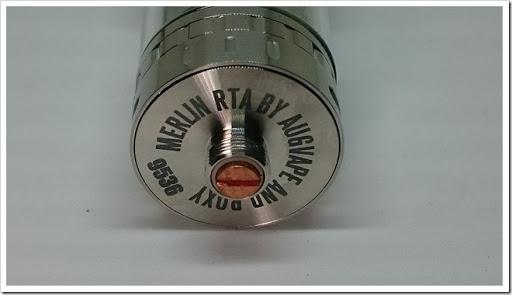 DSC 3696 thumb%25255B3%25255D - 【RTA】「AUGVAPE MERLIN RTA」レビュー。爆煙系シングルフレイバーチェイサータンク!【23mmタンク、やや過大評価感?】追記あり:デュアルビルドでフレーバー!