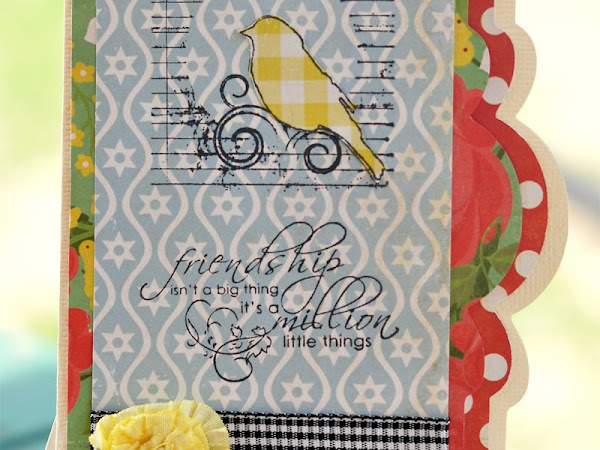 A Layout AND a Cricut Card for FWF!!!!