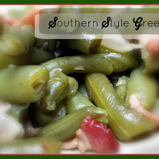 Southern Style Greens Beans