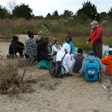 King/Robinson Students Visit Hammonasset - P1020382.JPG