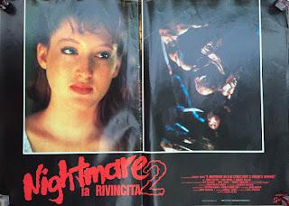 Italian Lobby card Nightmare 2 6 of 6  26x19 #1