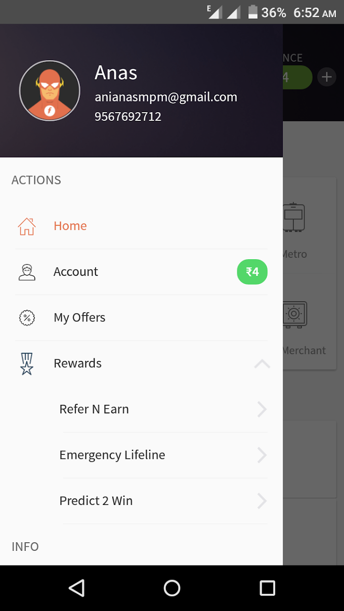 Freecharge Emergency Lifeline Get Free 3G Data Upto 100 Mb