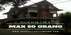 Rekomendasi villa lembang bandung untuk rombongan