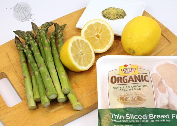 Ingredients for Lemon Pepper Chicken