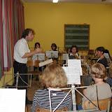 De repetitie van de Jeugdband 2001