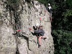 via corda sur du granite