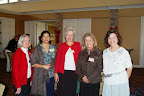 Kathy Close, Jyotsna Kothare, Ester Spickler, Shirley Morris and Martha Davis Photo provided by Jennifer Ahner