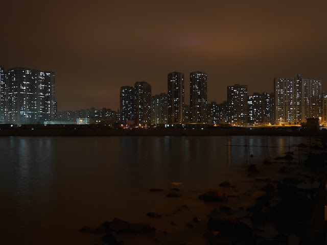 View of Macau from Zhuhai at night
