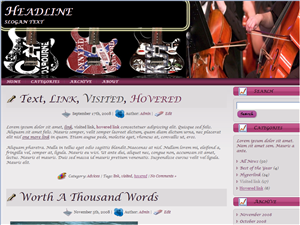 Music Instruments Wordpress Theme