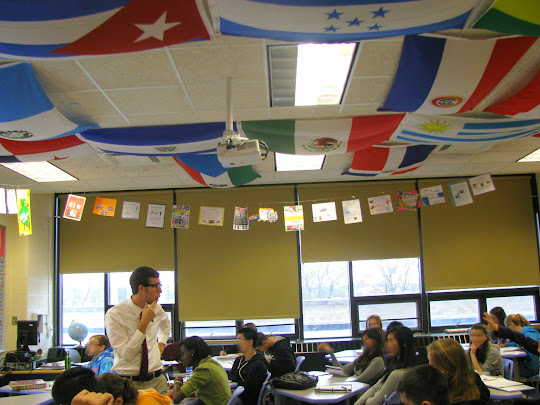High School Spanish Classroom