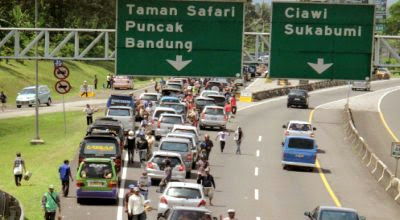 ILUSTRASI Jalur Puncak Bogor