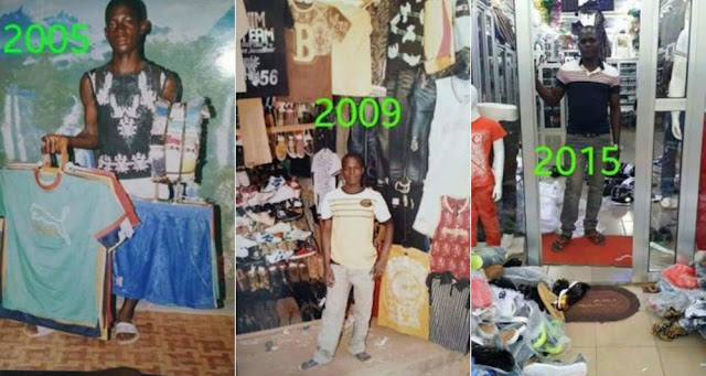 See How This Man's Business Grew And Transformed In 10years (Photos)