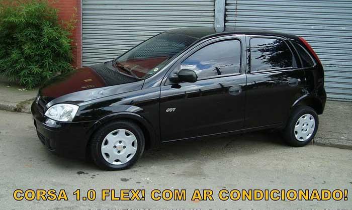 Chevrolet Corsa 2007 Flex com ar-condicionado - lateral