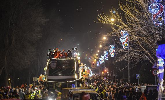 Cabalgata de Reyes 2016 en Rivas-Vaciamadrid