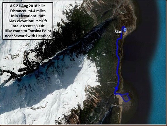 Seward AK-hike-21 Aug 2018